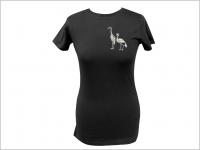 Dámske vyšívané tričko