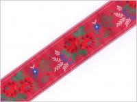 Stuha krojová červená 55 mm