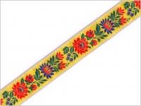 Stuha krojová žltá 35 mm