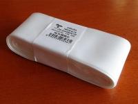 Stuha taftová biela 40 mm