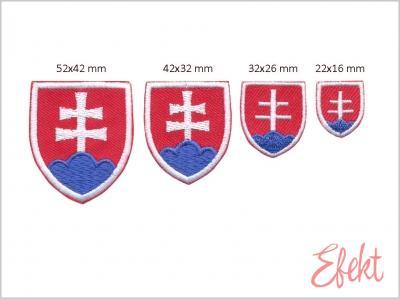 Slovenský štátny znak,nažehľovací
