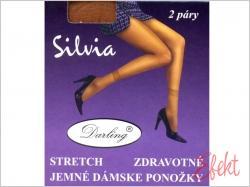Ponožky SILVIA zdravotné stretch