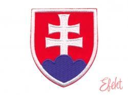 Slovenský štátny znak, nažehlovačka