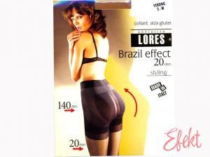 Pančuchy LORES Brazil effect